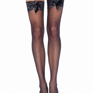 Leg AvenueSheer Thigh Highs Lace Top