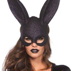 Leg AvenueGlitter masquerade rabbit mask