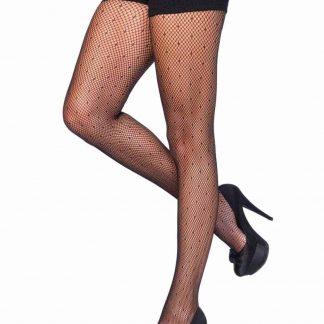 Leg AvenueDotted spandex net pantyhose